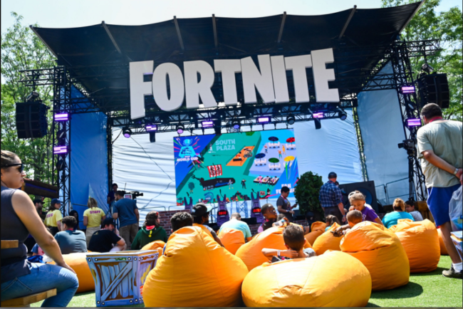 Fortnite is not playable on Apple devices