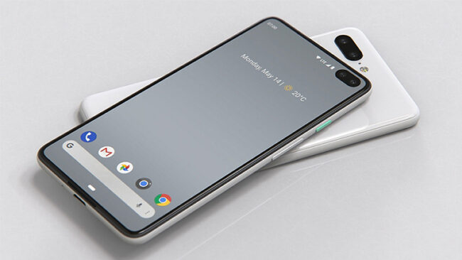 Google pixel 5 Dilsplay