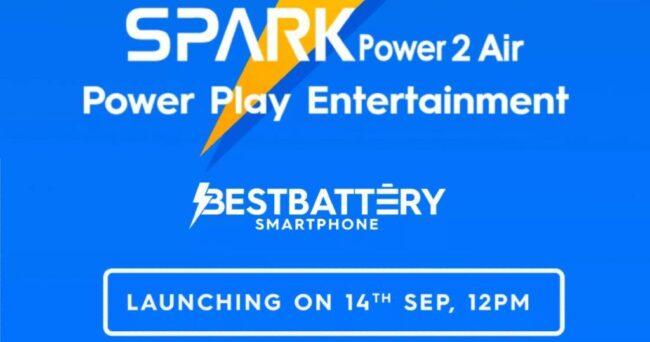 Tecno spark power 2 air