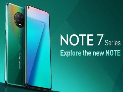 Upcoming Smartphons: Infinix Note 7