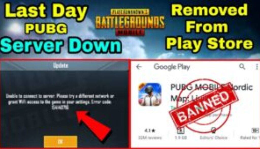 PUBG Mobile Is removed