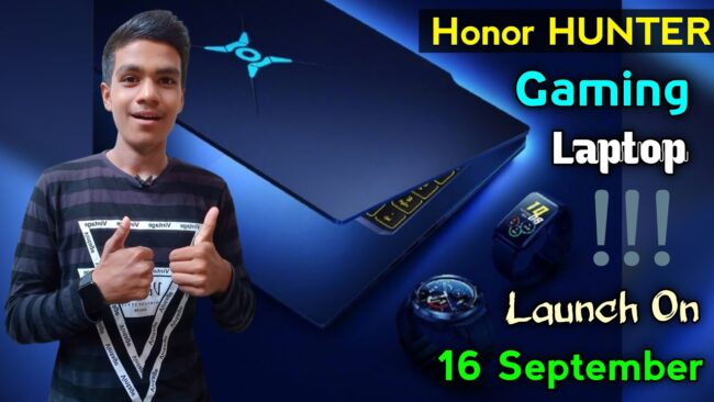 Honor Hunter Gaming Laptap