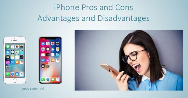 iPhone Advantages and disadvantages