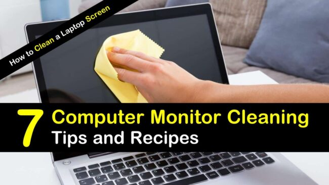 how to clean computer screen