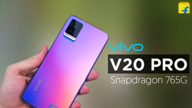Vivo V20 Pro smartphone