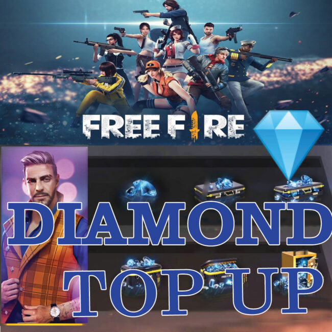 How to Top up in Free Fire