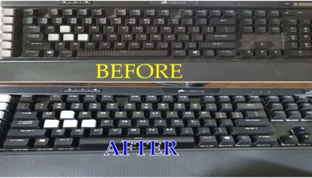 clean your keyboard