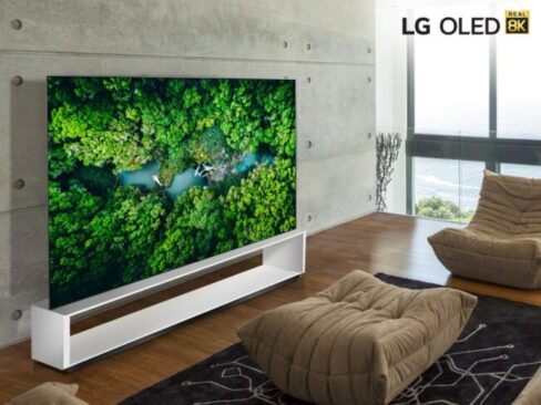 LG CNED Mini LED 8K TV