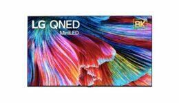 LG CNED Mini LED 8K TV