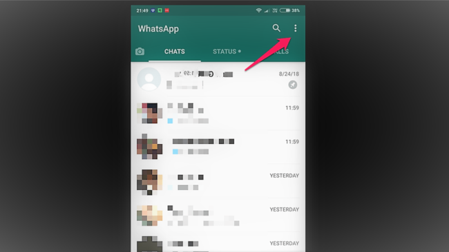 Use WhatsApp web