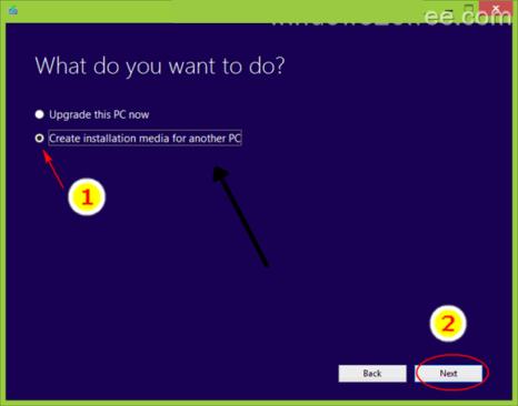 How install Windows 10