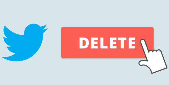 How to delete a twitter account permanently