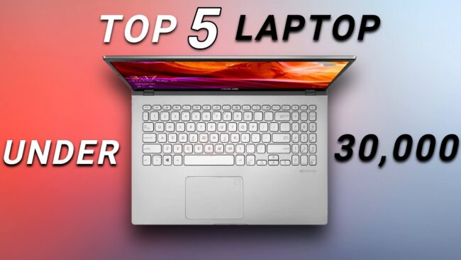 Best Laptop Under 30000 in India 2021