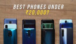 Best Smartphone Under 20000 in India
