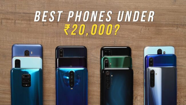 Best Smartphone Under 20000 in India