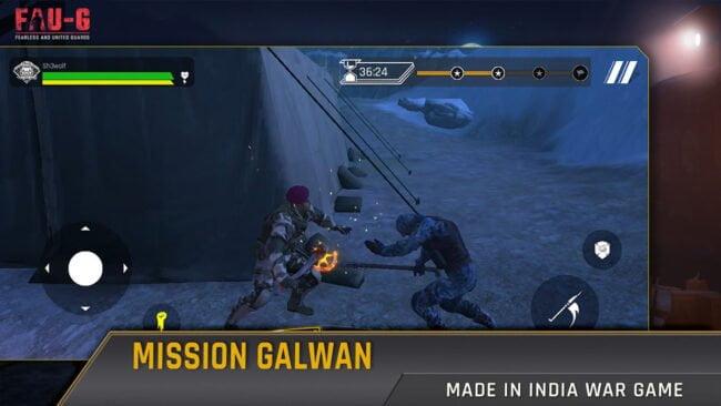 FAUG: Combat Moves