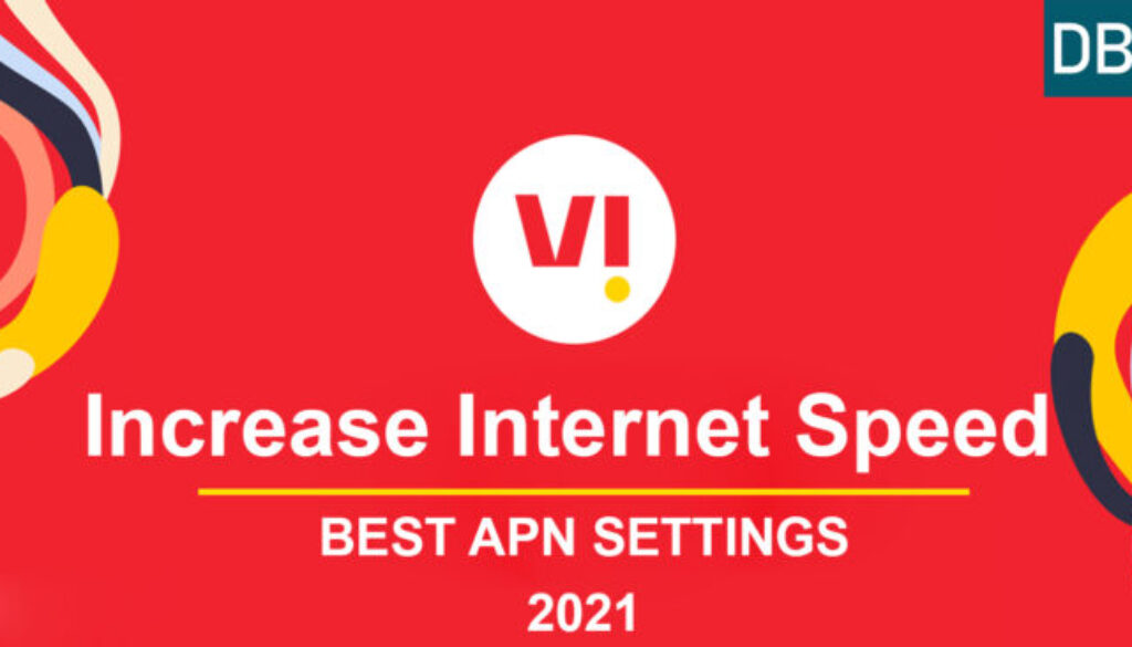 How to Increase internet speed in Vodafone