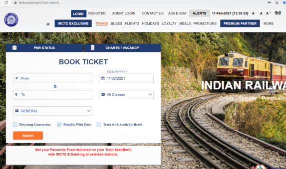 How to Create a New Account in IRCTC & Book a Ticket 2021 - Digital Bachat