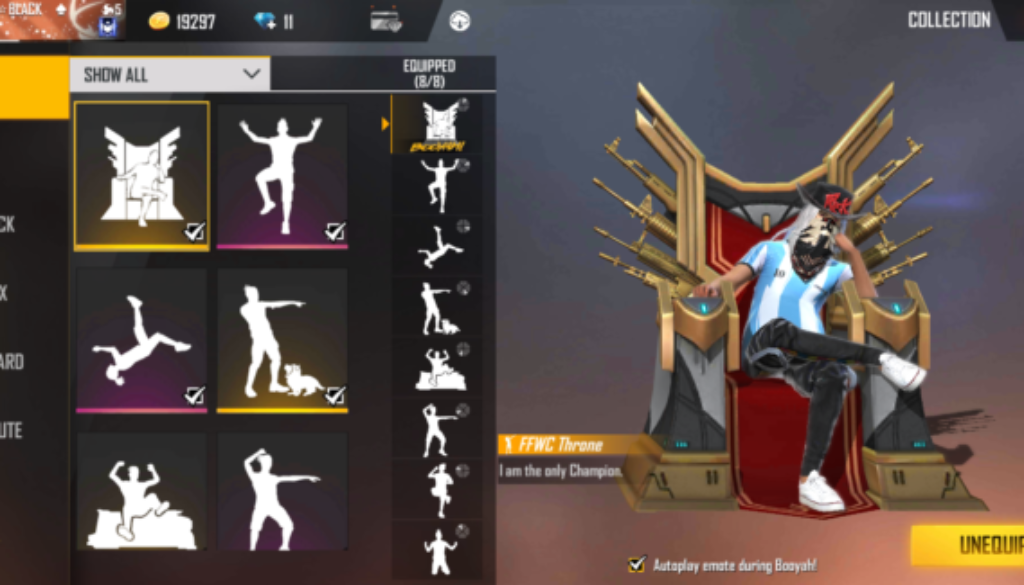 Get Emote In Free Fire