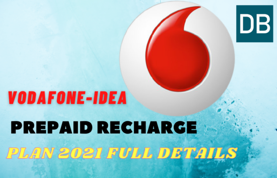 Vodafone idea recharge plan 2021