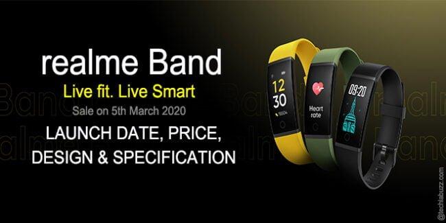 realme smart band