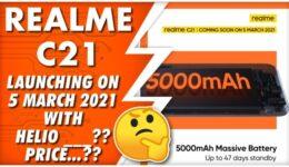 Realme C21 Release Date