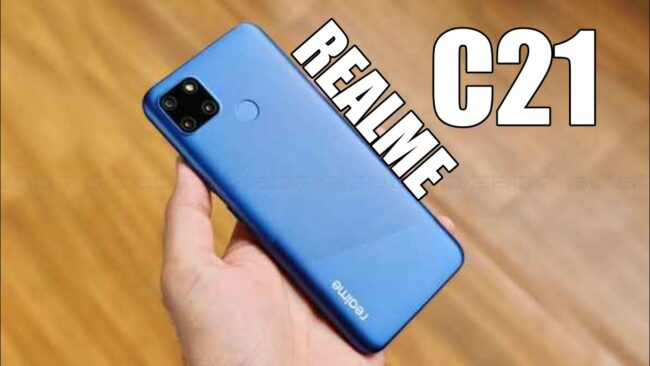 Realme C21 Release Date On March 5 With A 5000mah Battery