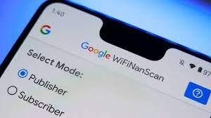 WifiNanScan app