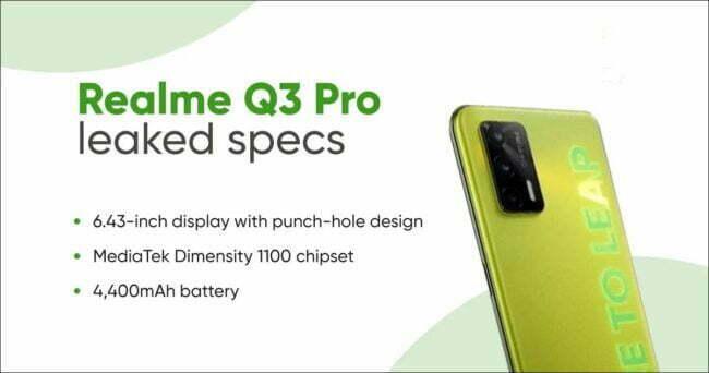 Realme Q3 Pro Price in India