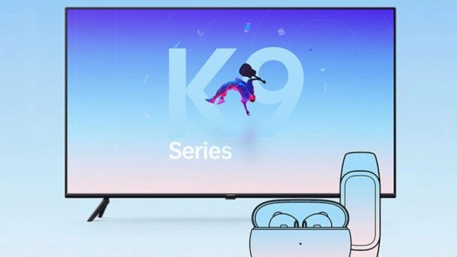 Oppo Smart TV K9 to be launched on May 6 with Oppo K9 - Digital Bachat