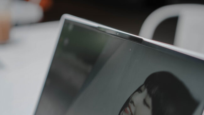 Lenovo Yoga Slim 7i Carbon web camera