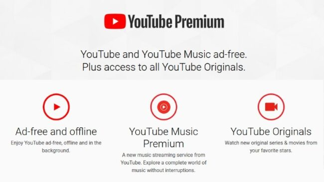 Watch Youtube videos without Ads: Youtube Premium