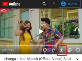 Youtube Video downloading using UC browser