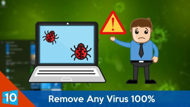 Remove Virus From PC Without Antivirus