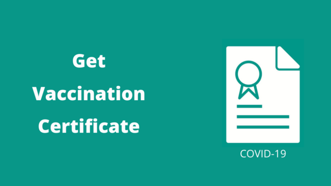 How to Download Covid Vaccination Certificate