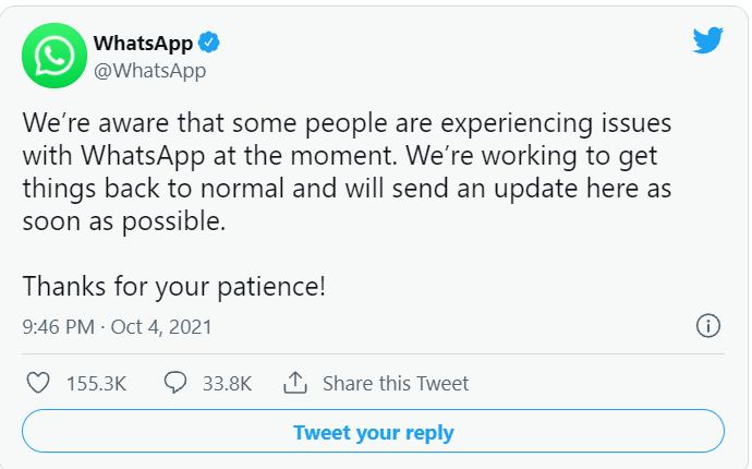 """Facebook, WhatsApp and Instagram not Working Due to Server Outage issues """"4 Oct"""" - Digital Bachat"""